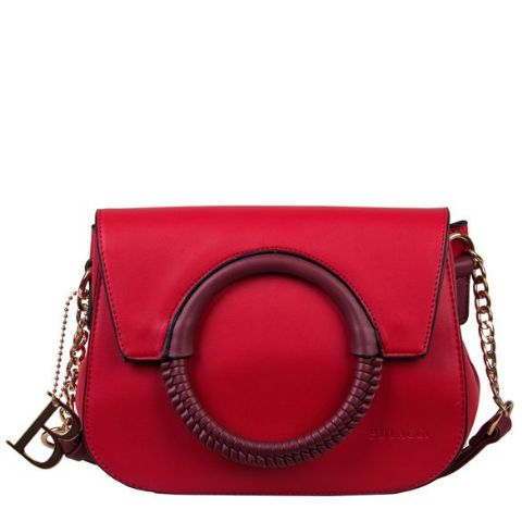 BULAGGI  Red Cross Body Hand Bag